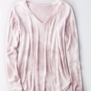 American Eagle Soft+Sexy Ribbed Long Sleeve Top